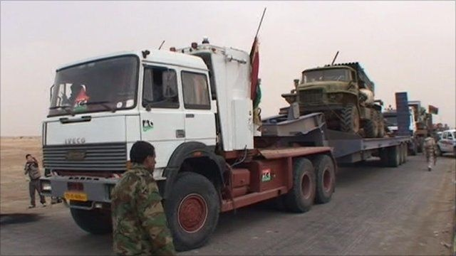 Trucks in Ajdabiya