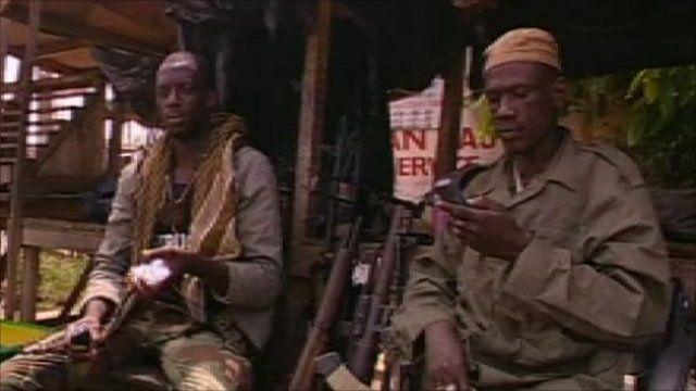 Two men in Abidjan