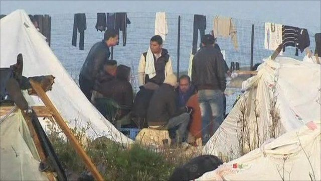 Refugees in Lampedusa