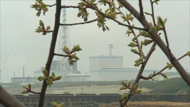 Nuclear plant in Tokaimura