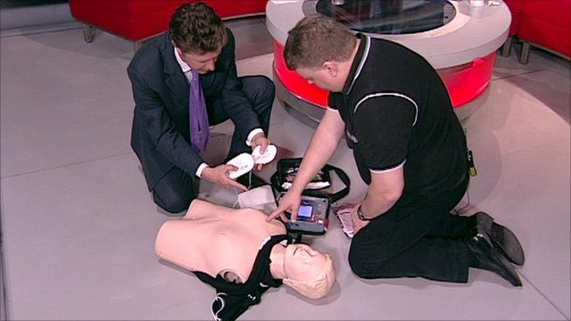 How to use a defibrillator