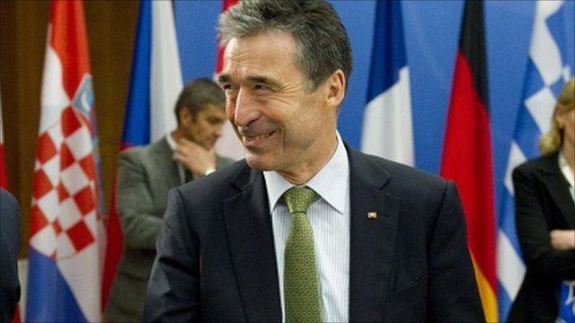 Nato Secretary General Anders Fogh Rassmussen