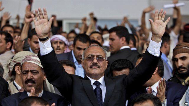 Yememi President Saleh