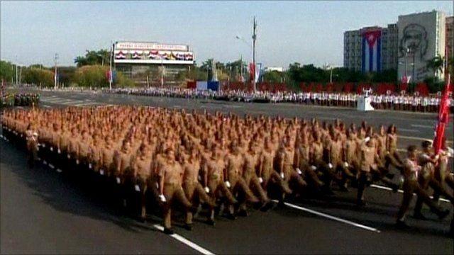 Parade in Havana