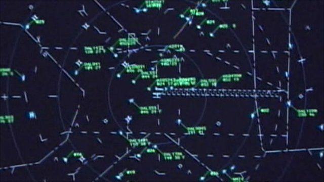 Air traffic control monitor