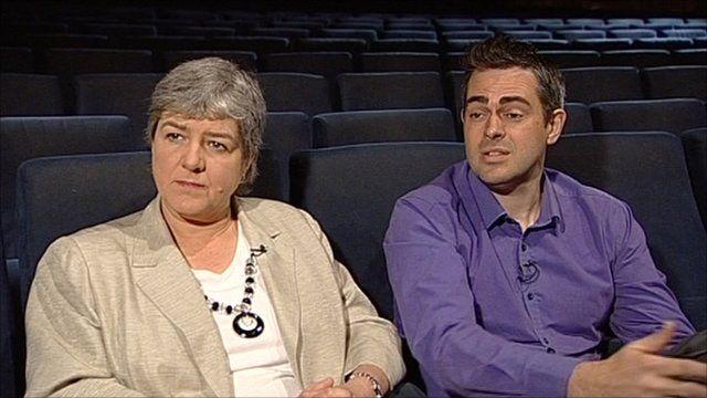 Jonathan Bartley and Jane Kennedy