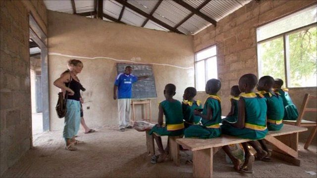 Education project in Ghana