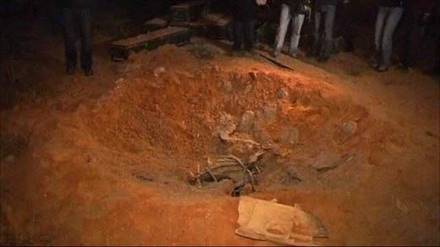 Bomb-damaged bunker