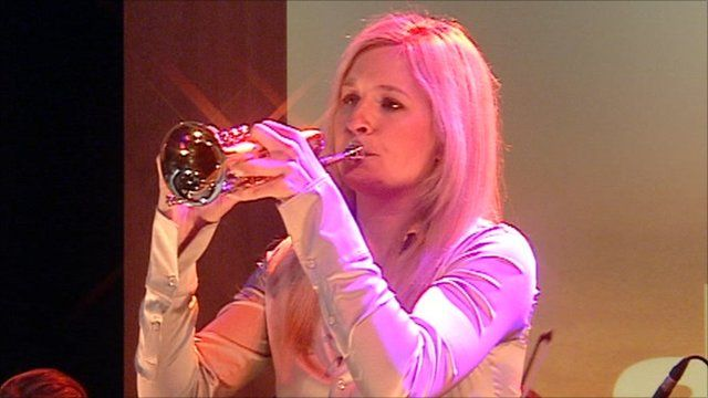 The Brit award winning trumpeter Alison Balsom plays Charpentier's Te Deum on the Andrew Marr Show