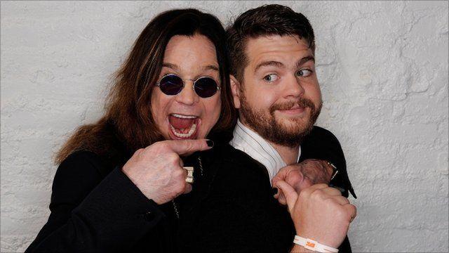 Ozzy and Jack Osbourne