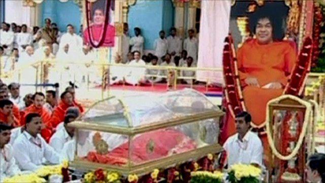 Funeral of Sai Baba