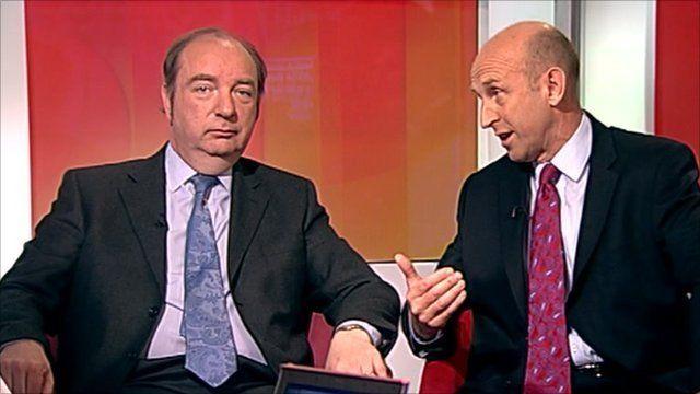 Norman Baker and John Healey