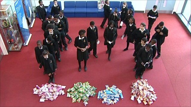 Schoolchildren vote for their favourite crisps