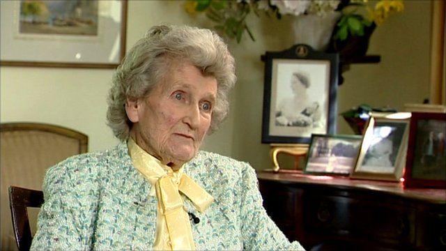The Queen's cousin, Margaret Rhodes
