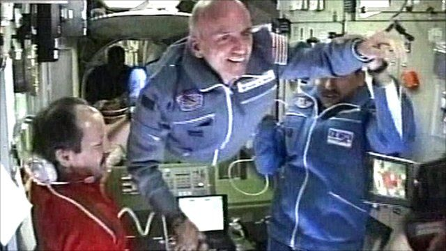 Dennis Tito on the ISS