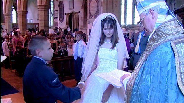 Royal wedding recreated in Somerton