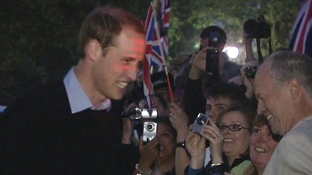 Prince William in The Mall