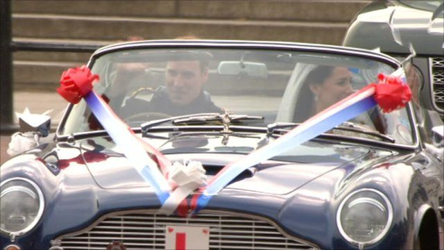 Prince William and Catherine, the Duchess of Cambridge