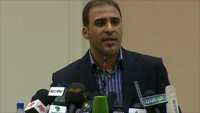 Libyan government spokesman Moussa Ibrahim