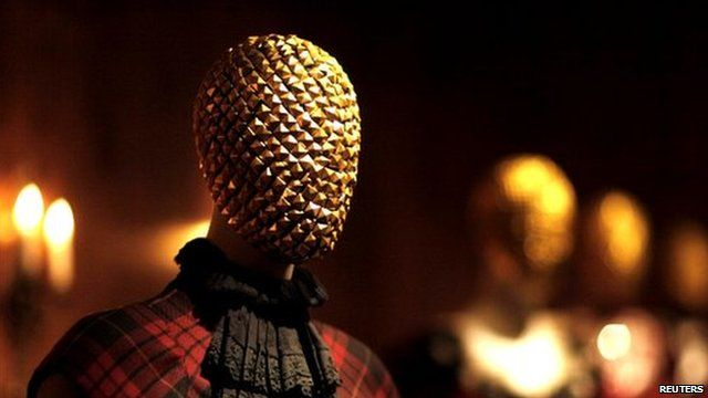 Creations by the late British designer Alexander McQueen