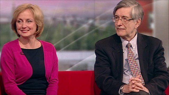 Professor Sir Nicholas Wald and Dr Rosemary Leonard