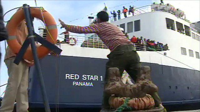 International aid ship the Red Star 1