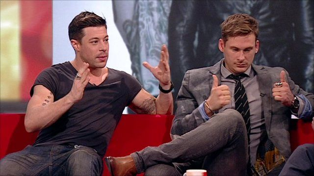 Duncan James and Lee Ryan