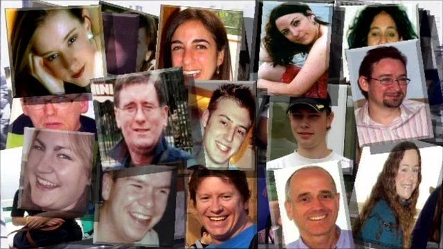 Victims of 7/7 bombings