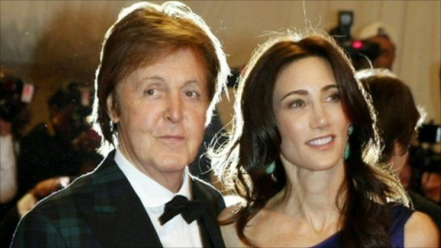 Media Player Sir Paul McCartney And Nancy Shevell