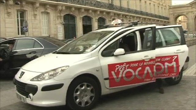 French taxi