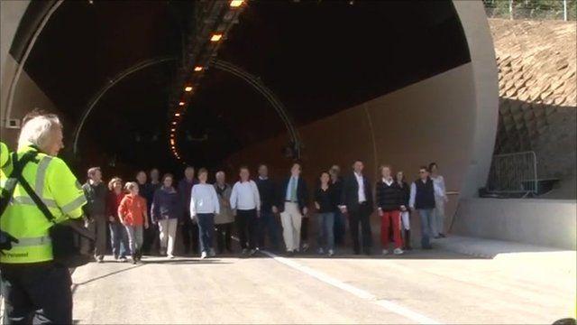 Walking the Hindhead Tunnel