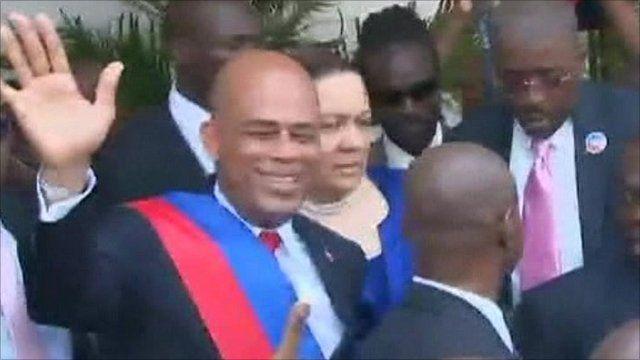 Haiti President Michel Martelly