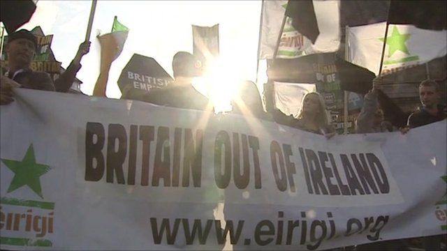 Protests in Ireland