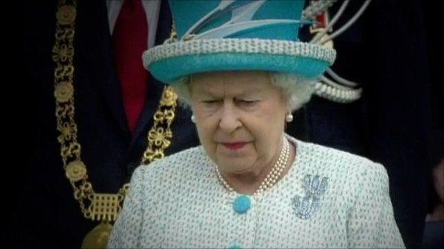 Queen in Ireland