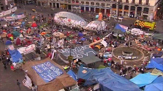 Madrid's Puerta del Sol square