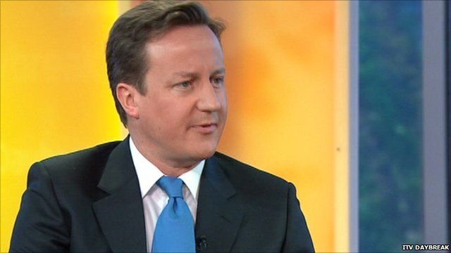 David Cameron on ITV's Daybreak