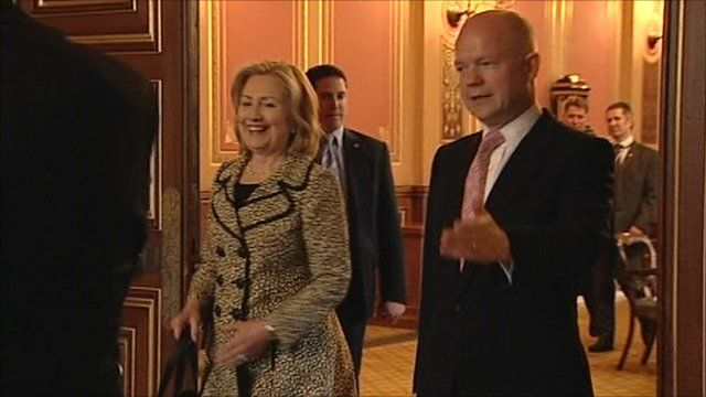 Clinton and Hague