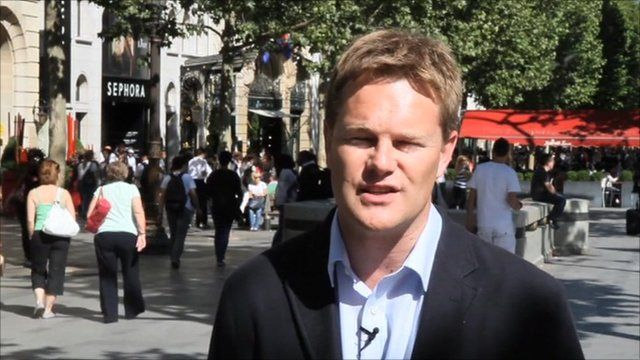 The BBC's Christian Fraser