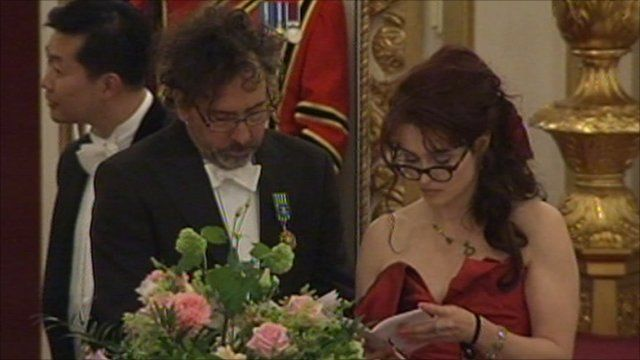 Tim Burton and Helena Bonham-Carter