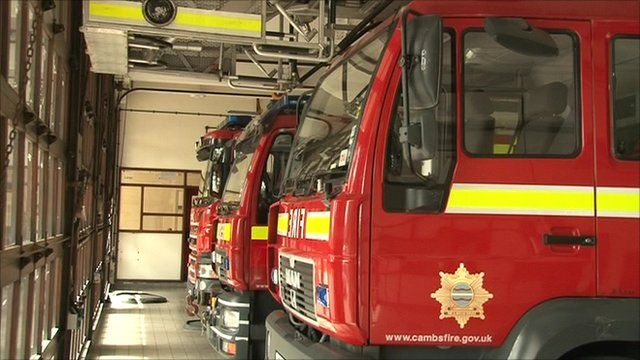 The fire service say the cuts would not affect frontline services
