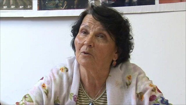 'Srebrenica widow'