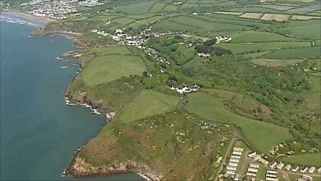 Pembrokeshire coastline