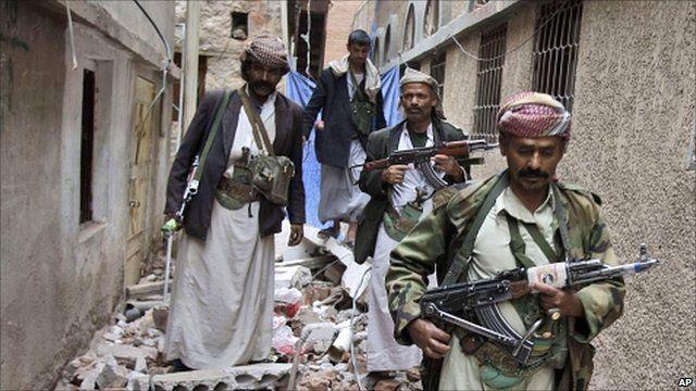 Yemeni tribesmen