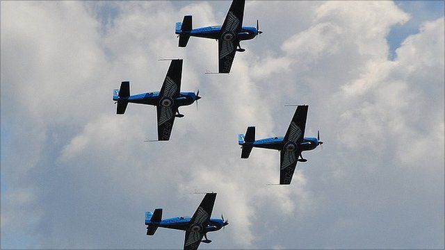 Blades at the Southend Air Festival in 2010