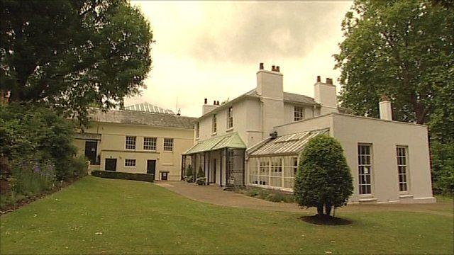 John Keats former home in Hampstead