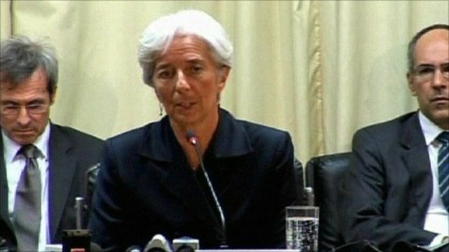 French Finance Minister, Christine Lagarde