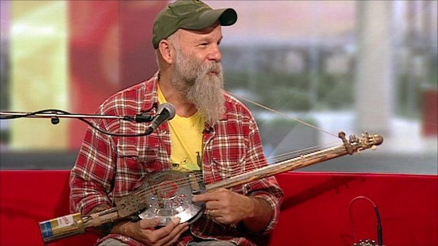 Image result for seasick steve morris minor guitar
