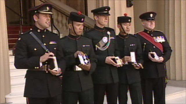 Honoured soldiers