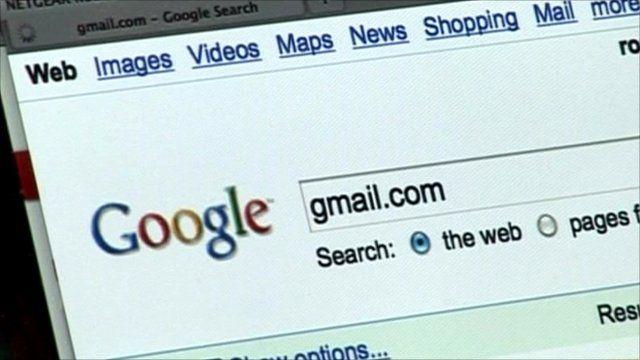 Google screen