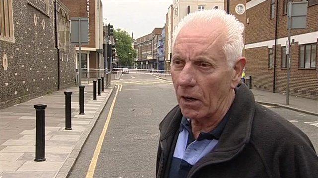 Eyewitness Ron Miller